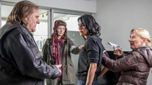 Gérard Depardieu, Corinne Masiero, Catherine Wilkening, Hélène Vincent