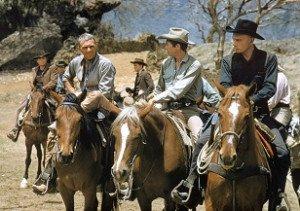 Steve McQueen, James Coburn, Yul Brynner